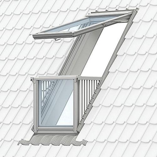 Velux Cabrio Balcony Window in a loft conversion