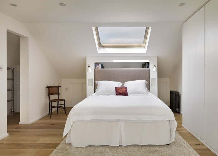 Basic Velux Loft Conversion with an En-suite bathroom